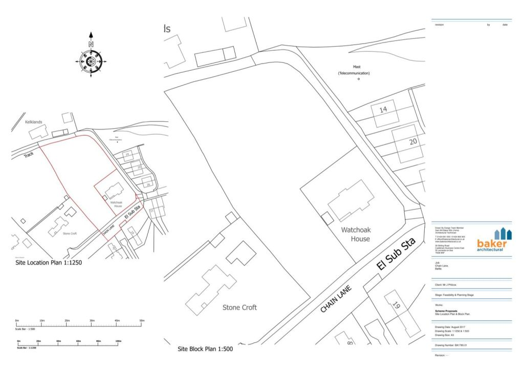 Site Location and Block Plan example 02