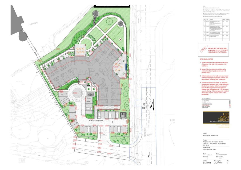 Architectural Site Plan example 03