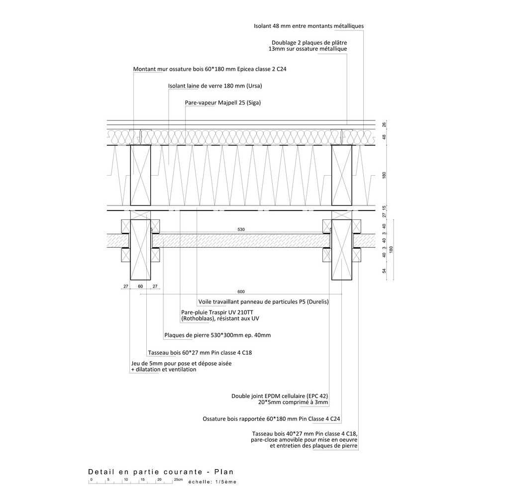 detail construction drawing