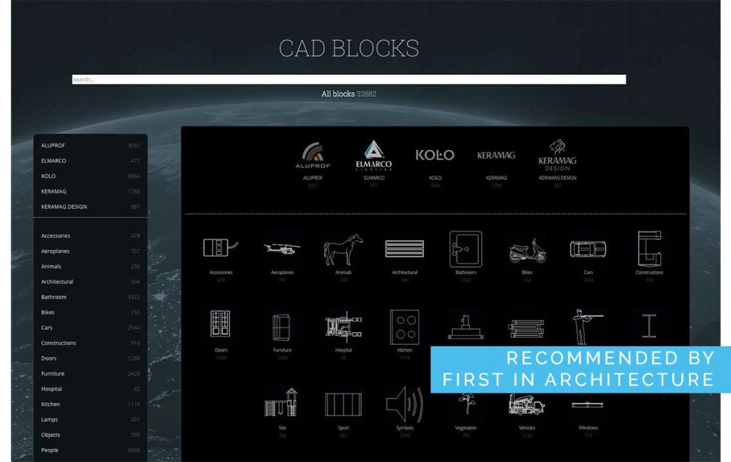 best cad blocks sites a plus