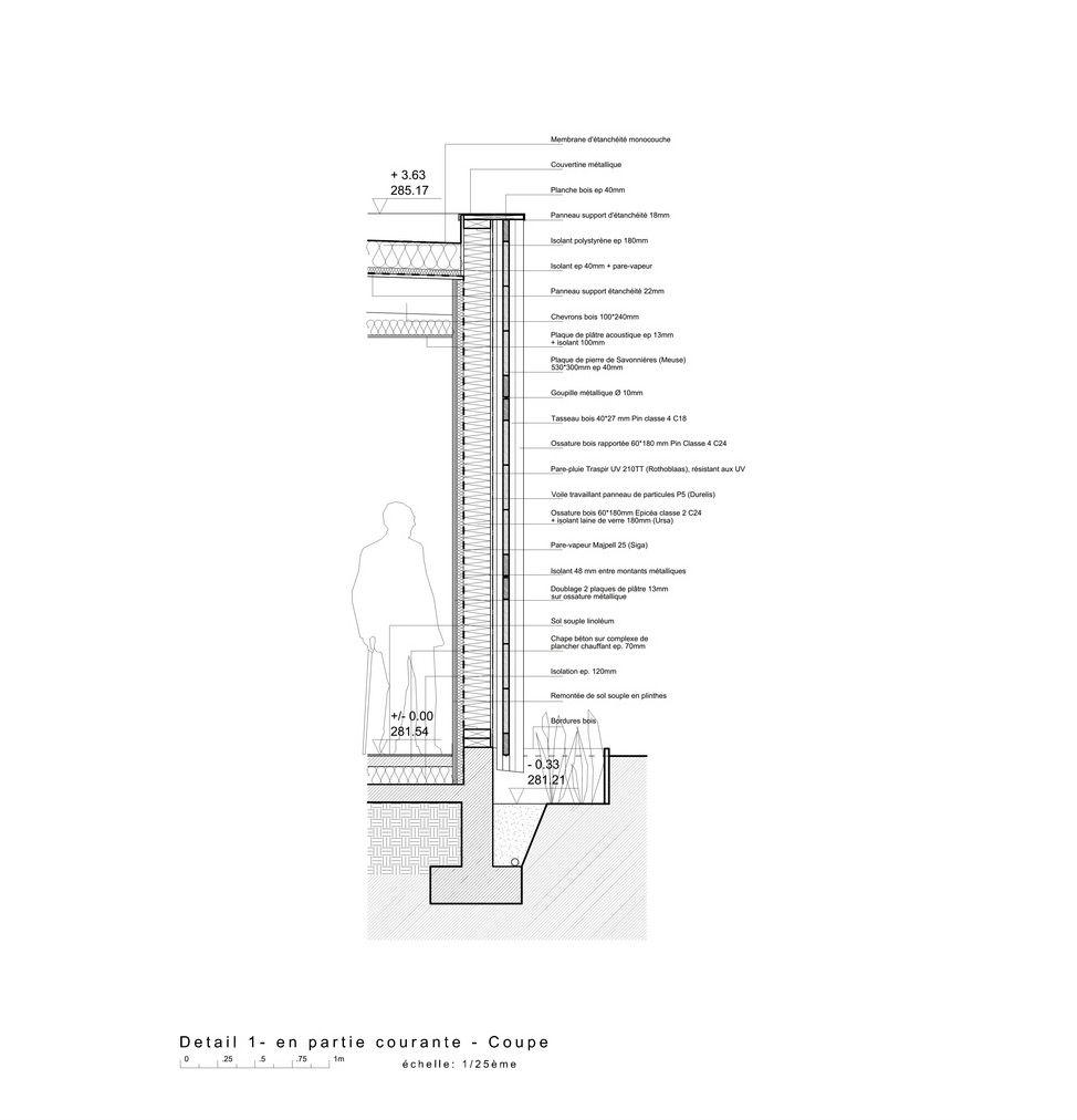 detail seciton drawing