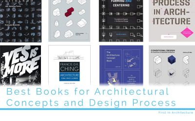 Best Books for Architectural Concepts and Design Process