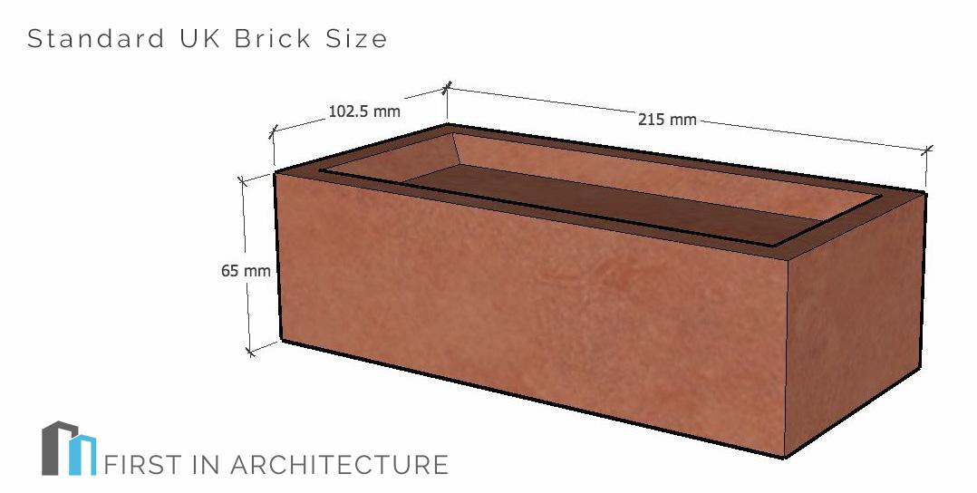 Standard UK Brick Size