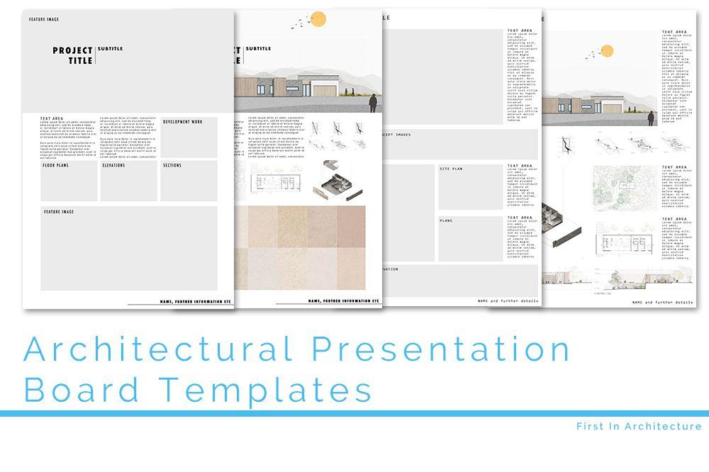 Architecture Presentation Board Templates