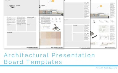 Architecture Presentation Board Templates