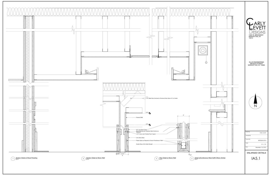 Architecture technical drawing layout 09