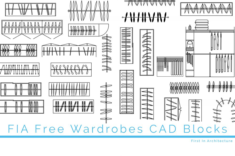 Free Wardrobe CAD Blocks