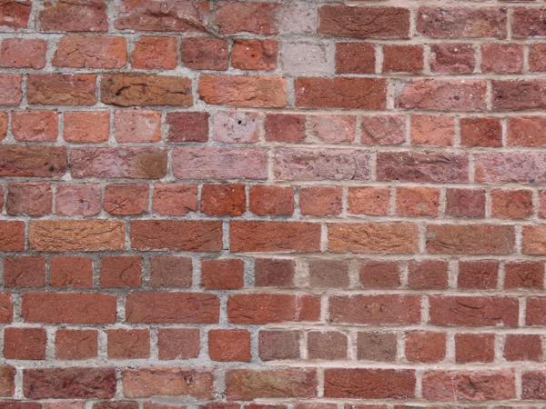 Red brick wall texture B005
