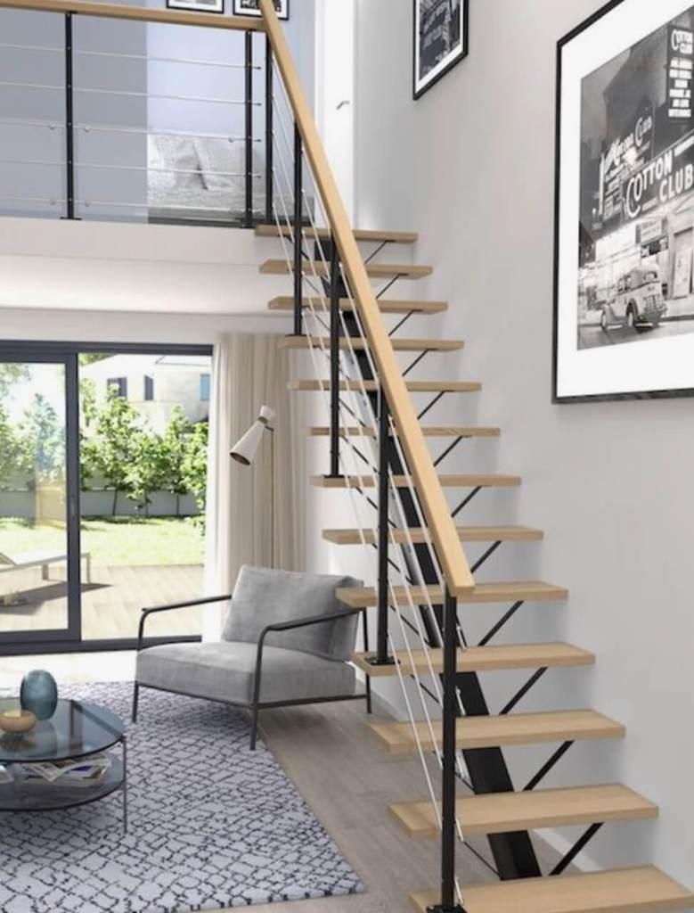 02 Narrow stair ideas