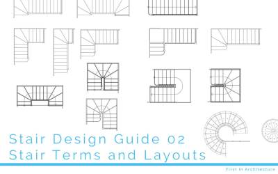 Stair Design Guide 02 – Staircase terms and layouts