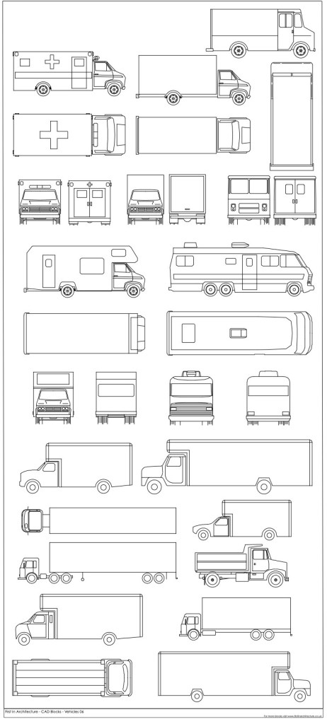 FIA free vehicle CAD Blocks 06