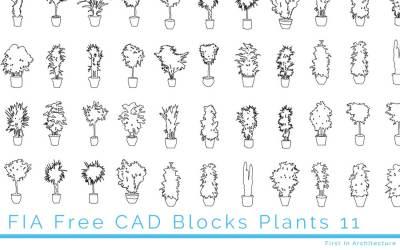 Free Plant CAD Blocks 11