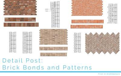 Detail Post: Brick Bonds and Patterns