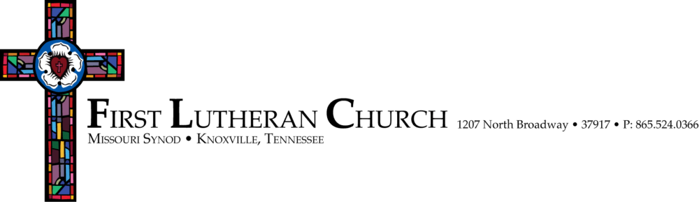 What we believe — First Lutheran Church