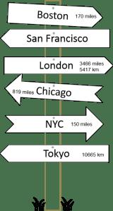direction signpost 2016
