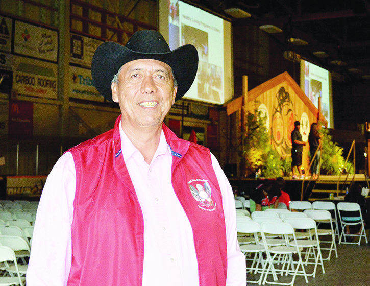 Cecil Grinder, chair of the organizing committee of the 40th Annual BC Elders Gathering.