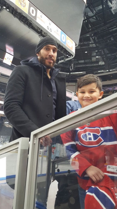 Dwight King pays his visit to his Northern Saskatchewan Visitors