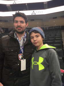 Carson Favel meets Carey Price