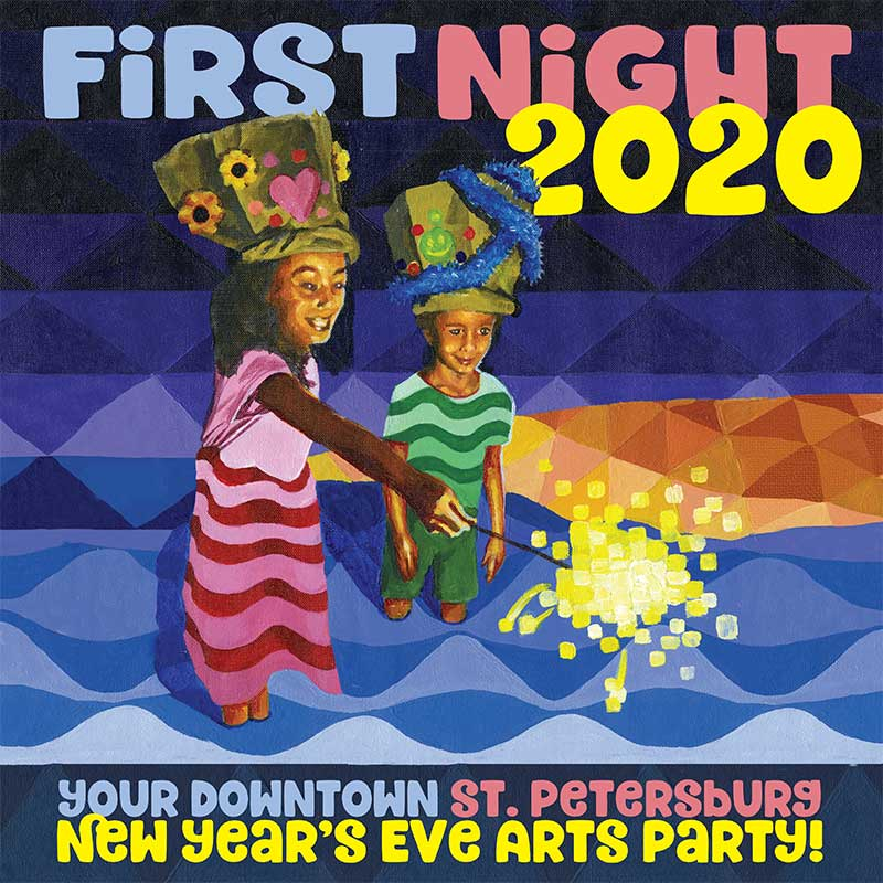 2020 First Night Buttons