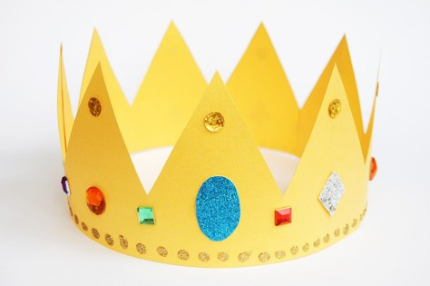 Paper Crown - Gold