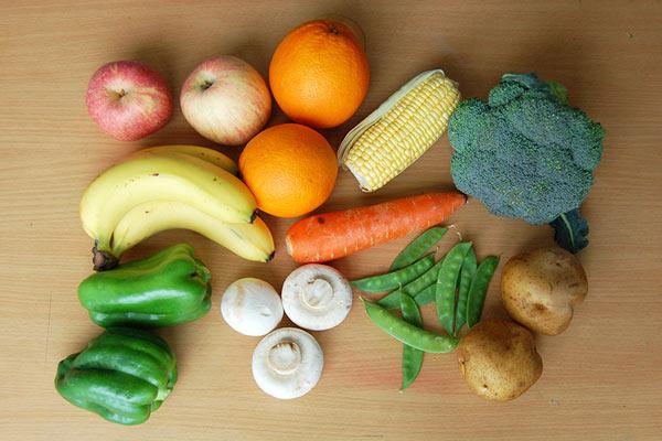 fruit and vegetable prints kids
