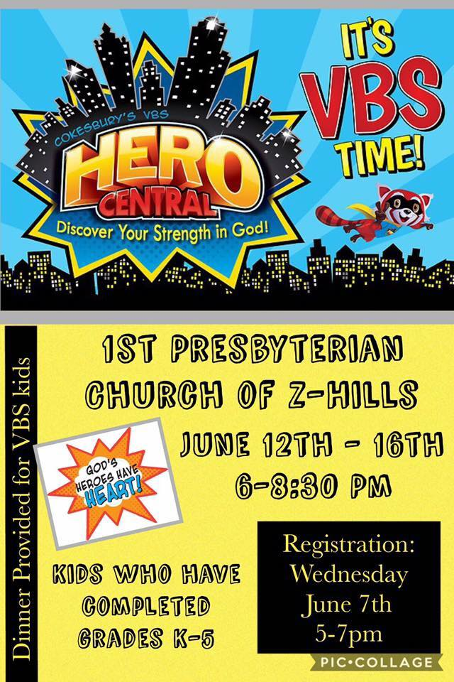Vbs hero central first presbyterian church of zephyrhills for Hero central vbs crafts