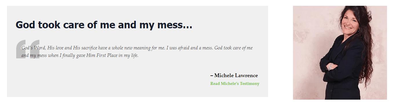 Michele L Success Story1