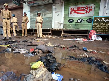 Right wing Hindu groups have been blamed for their role in the 2006 Malegaon blasts. Reuters