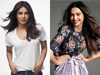 Priyanka Chopra and Deepika Padukone. Images from Facebook