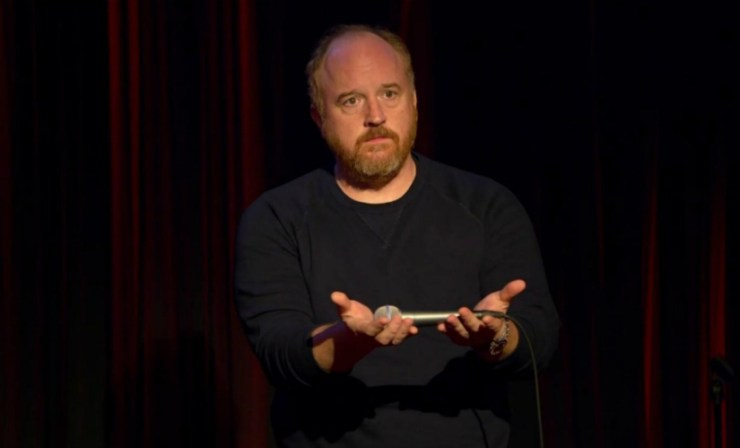 "With his career imploding over allegations of sexual misconduct, comedian Louis C.K. confessed Friday to masturbating in front of women and expressed remorse for wielding his influence ""irresponsibly."" YouTube"