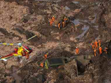 Rescue operations are still underway in B, where a damn collapse has left at least 300 people missing, Reuters