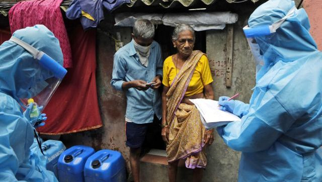 Mumbai serosurvey shows 57 COVID19 prevalence in slums nationwide tally at 148 lakhs