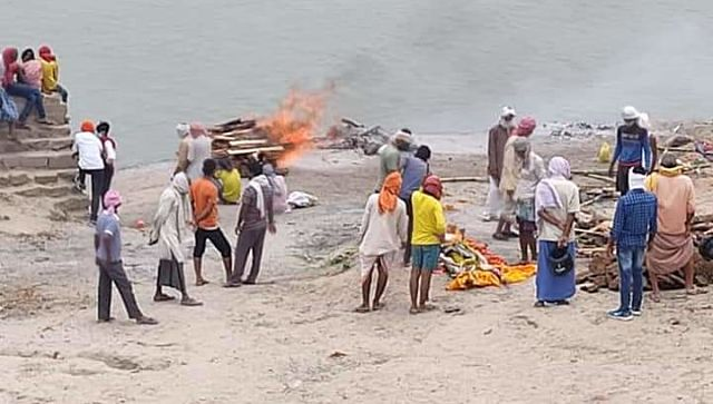 Three reasons why bodies are afloat on Ganga Costly cremation religious beliefs scarcity of wood