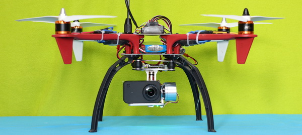 Xiaomi Mijia 4K Mini review: F450 drone test