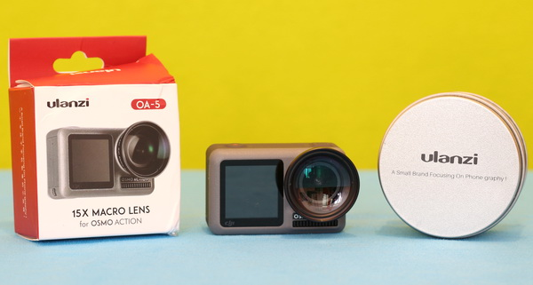 Osmo Action Accessories review: OA-5 15X Macro lens