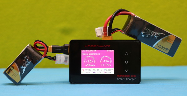 HOBBYMATE Speed H6 charger review: First usage