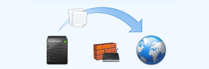 Synology DiskStation DS412+ レビュー インターネットからのアクセス