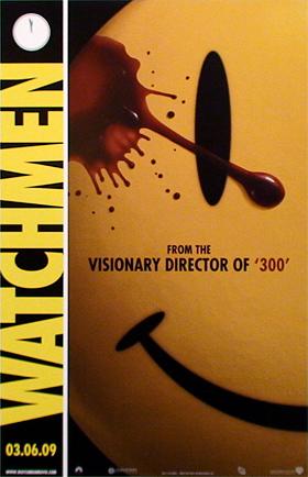 Watchmen film Comic Con poster