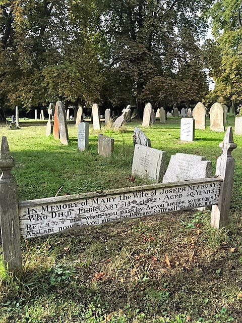 Famous Arlesey Grave