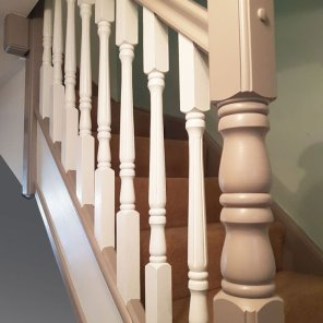 Two Tone Banisters