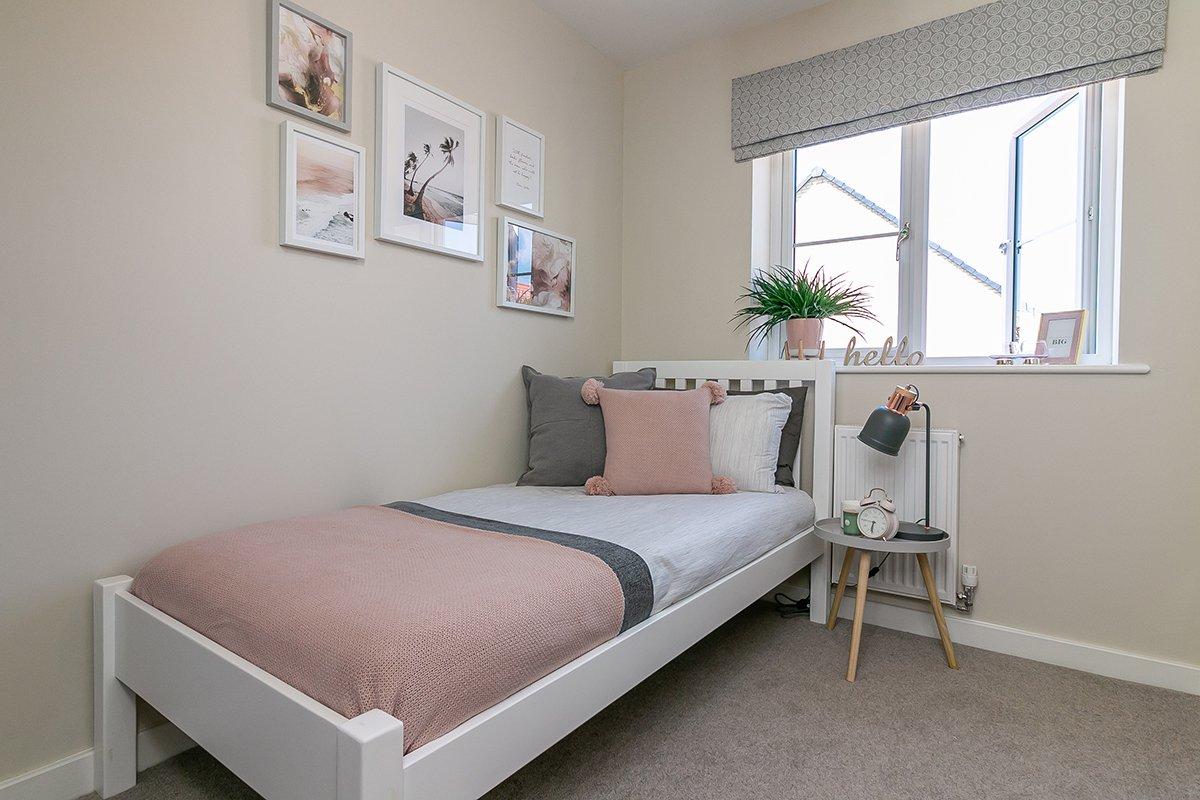 Plot 11 South Paddock Bedroom 3