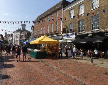 Hitchin Market Place