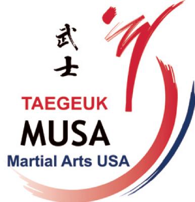 TAEGEUK MUSA - Martial Arts USA Logo