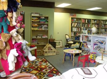 Third picture of the Children's Play Area inside of the Library