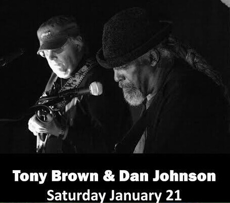 photo of Tony Brown and Dan Johnson