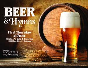 BEER AND HYMNSMichaels