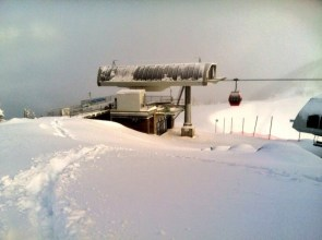 There's plenty of snow for today's skiing at Crystal Mountain, Wash. (photo: Crystal Mt.)