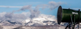 Angel Fire's snowmaking will soon supplement the natural snow on higher terrain in northern New Mexico (photo: Angel Fire Resort)