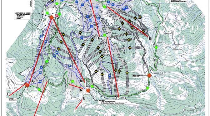 Ski Australia Resorts Map