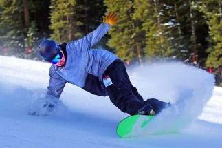 Opening day at Colorado's Arapahoe Basin Ski Area, Oct. 21, 2016. (photo: Jack Dempsey)